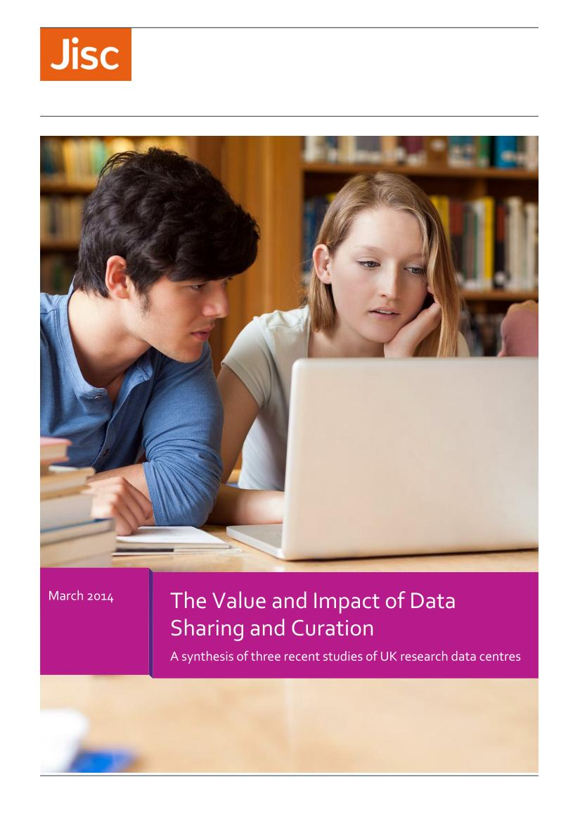 The Value and Impact of Data Sharing and Curation