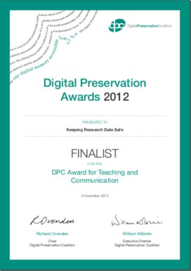 DPC Awards Finalist